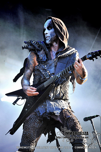 BEHEMOTH @ HELLFEST OPEN AIR  CLISSON FRANCE 17 JUIN 2017 35627252721_7af4ba8997_z