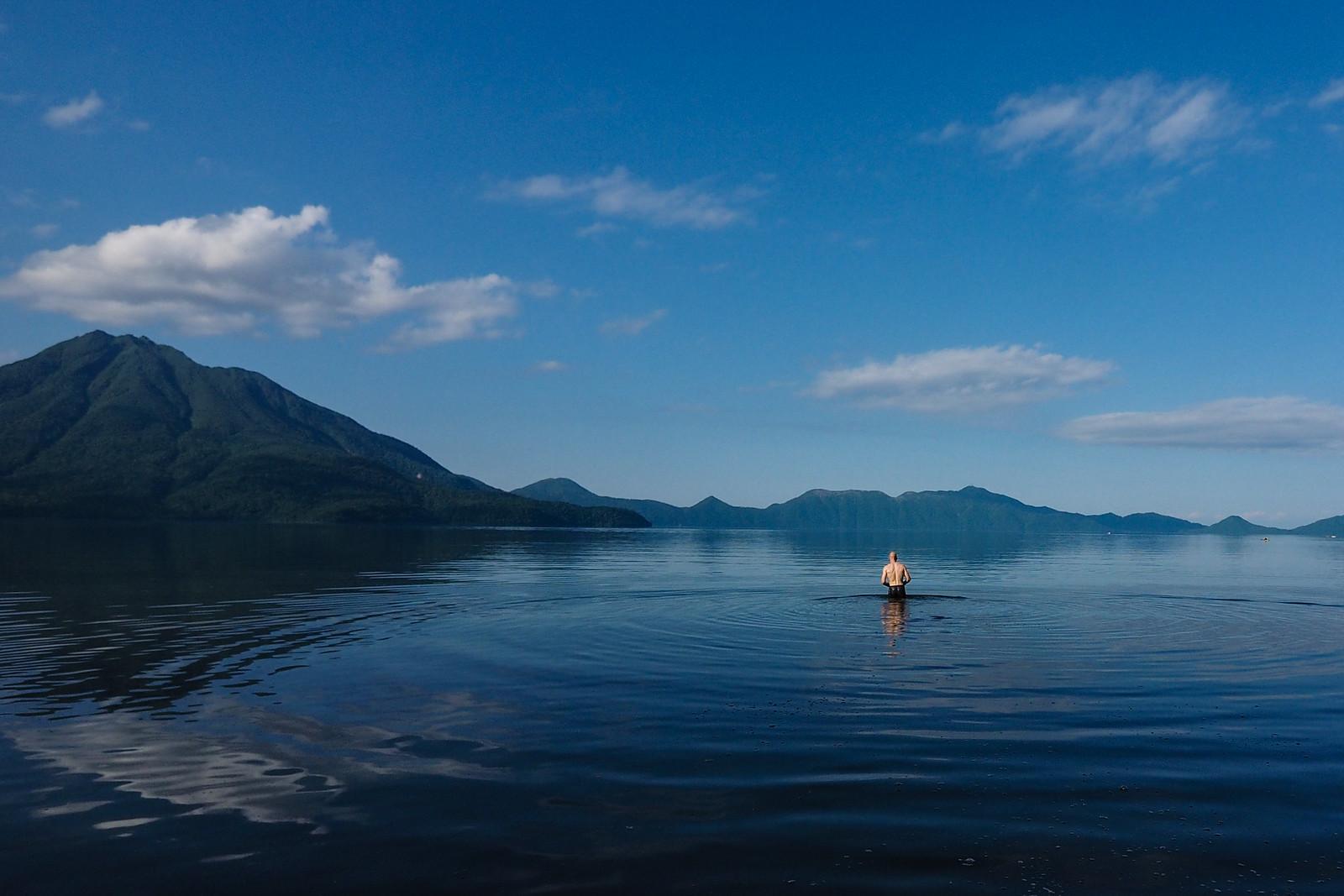 Lake Shikotsu Cycle-Camping Spring 2017
