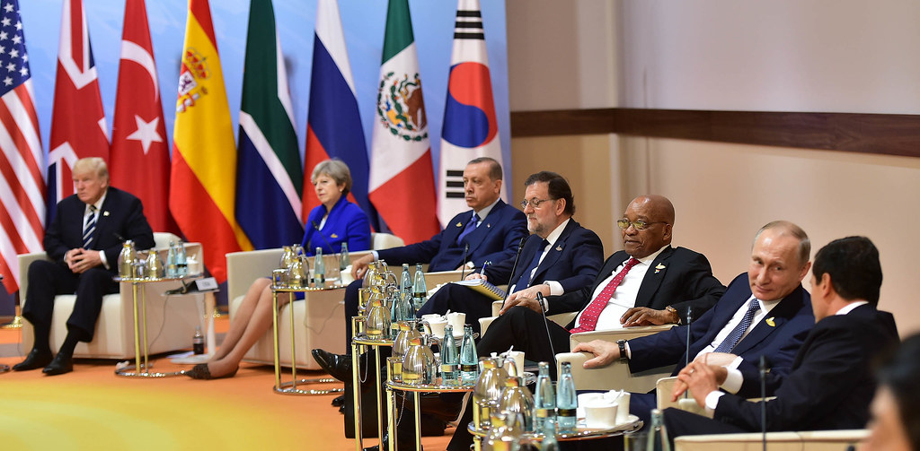 President Jacob Zuma attends G20 Leaders' Summit in Germany
