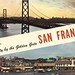Greetings from San Francisco, California by The Cardboard America Archives