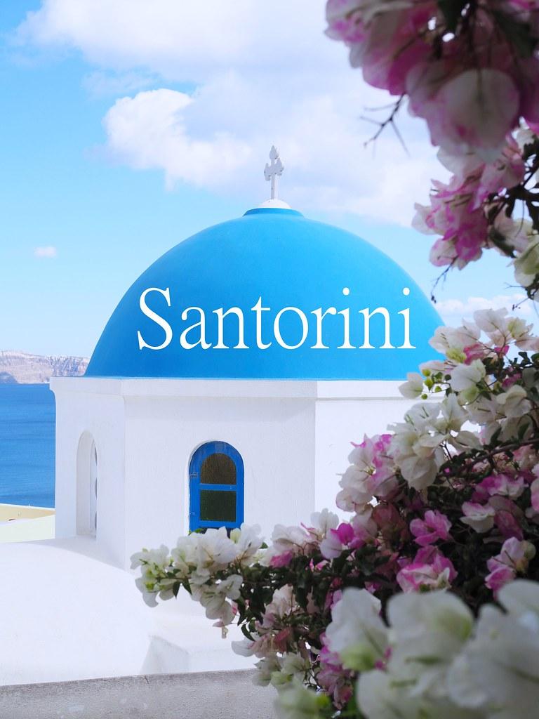 santorini-kreikka