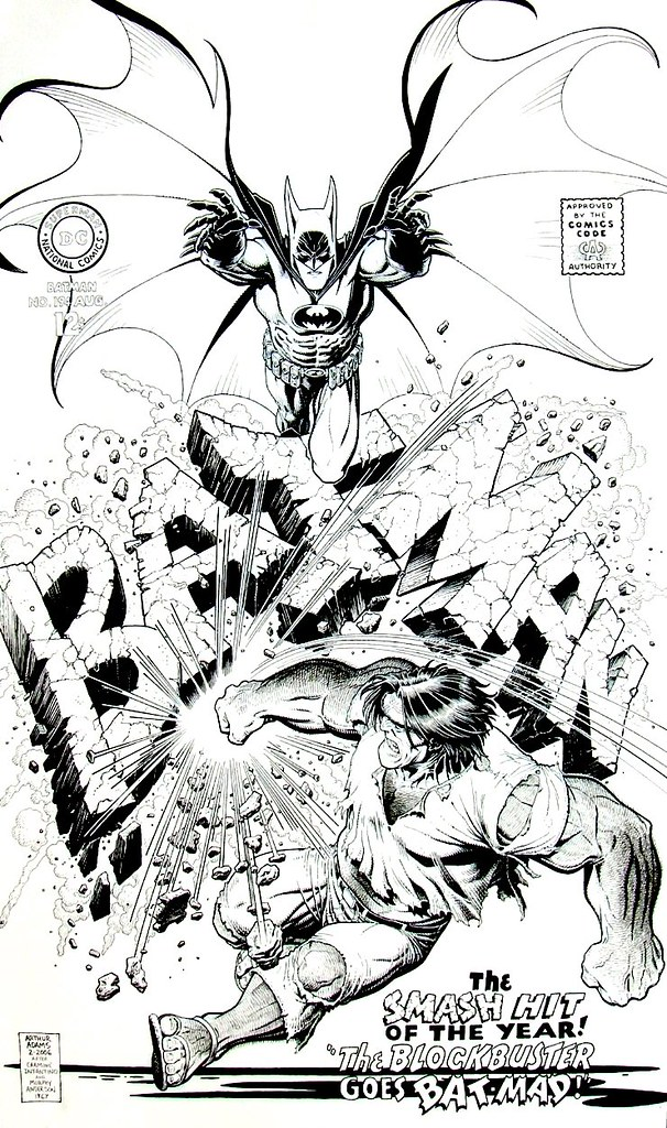 art adams batman 194 cover recreation