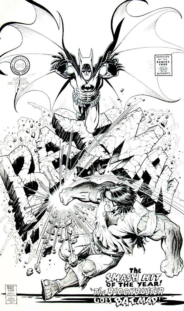 art adams batman 194 cover recreation