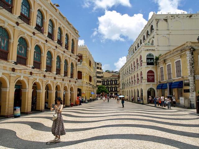Macau. Largo do Senado