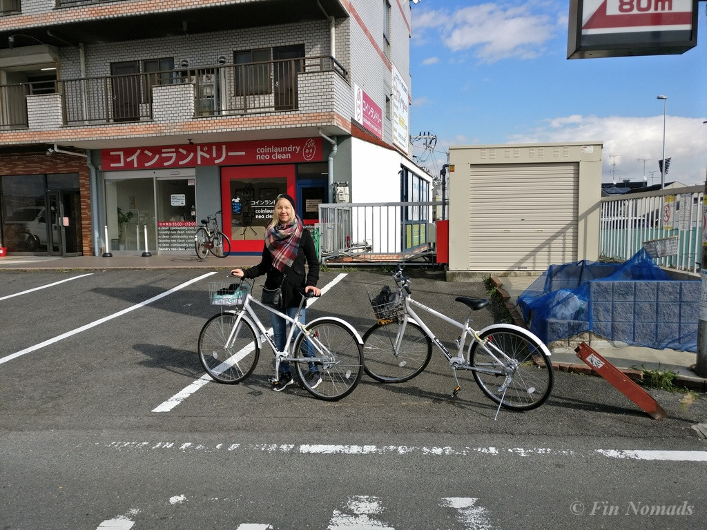 kyoto bike trip