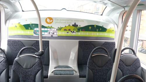 'Nottingham City Transport' Scania N280UD / Alexander Dennis Enviro 400CBG City  on 'Dennis Basford's railsroadsrunways.blogspot.co.uk  Upstairs rear bulkhead.