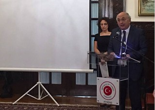Χαιρετισμός Υφυπουργού Εξωτερικών, Γιάννη Αμανατίδη στην επέτειο μνήμης της 15ης Ιουλίου 2016 (Τουρκική Πρεσβεία, Αθήνα)