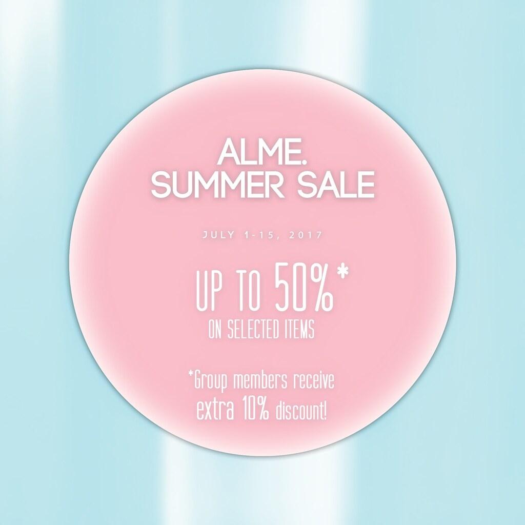 alme.  Super Summer SALE! - SecondLifeHub.com