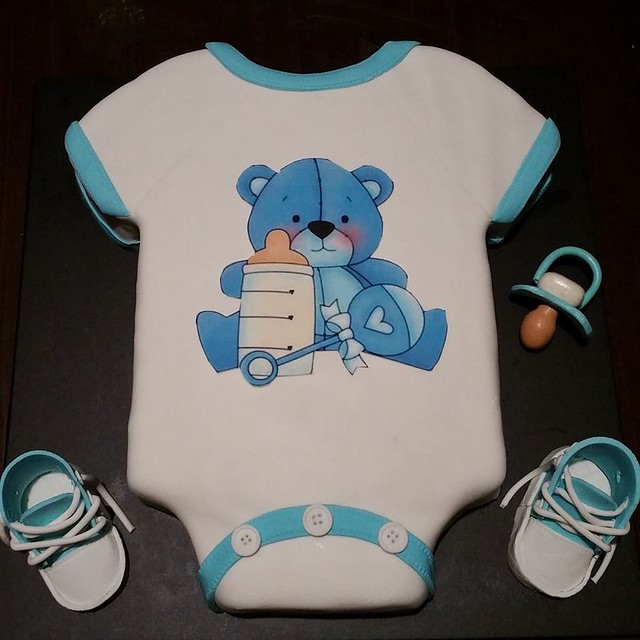 Baby Shower Cake by Helen Marie of Helens Heavenly Cakes