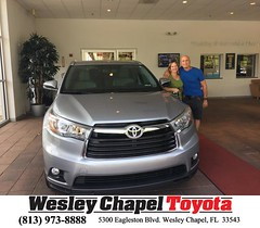 #HappyBirthday to Kelly from Christopher Joseph at Wesley Chapel Toyota!
