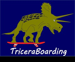 triceratops triceraboarding
