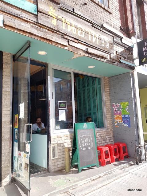 Nana Restaurant storefront