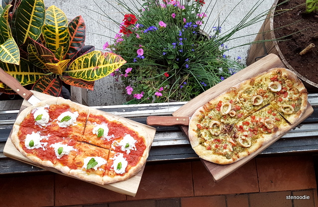 CANO Restaurant pizzas