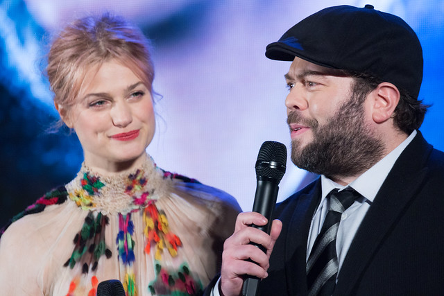 Photo:Fantastic Beasts and Where to Find Them Japan Premiere Red Carpet: Dan Fogler & Alison Sudol By Dick Thomas Johnson