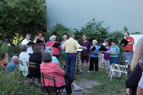 A Choral Garden