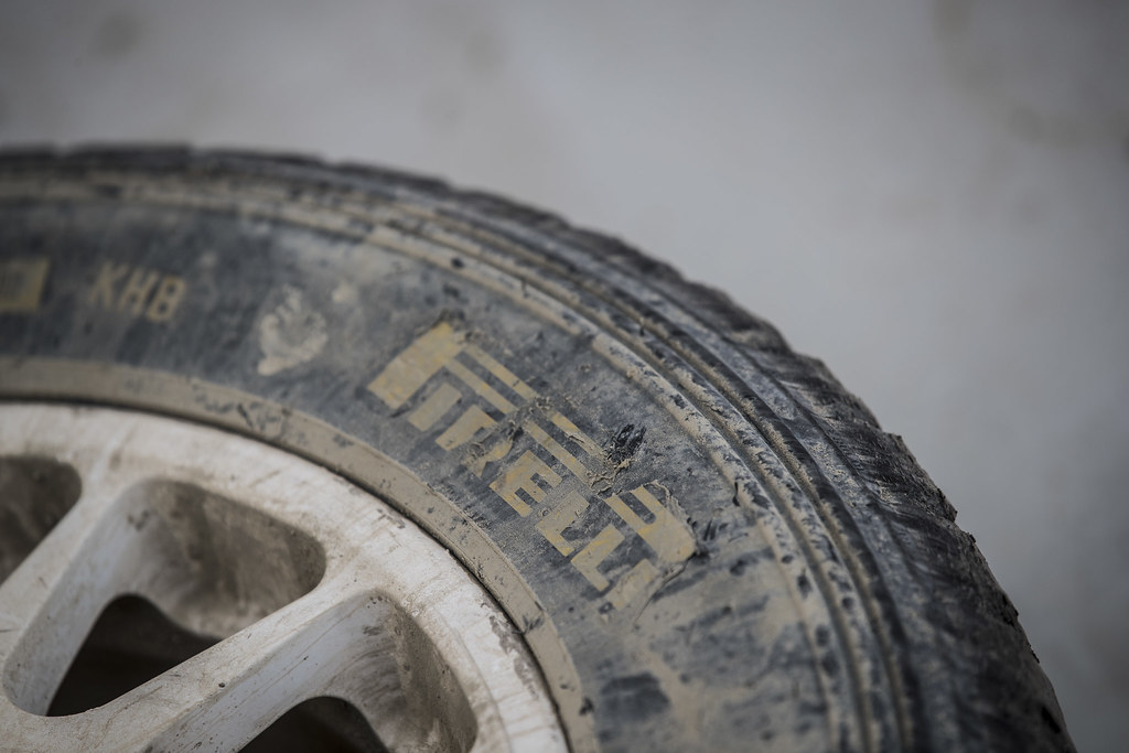 PIRELLI pneus tyres tyre during the 2017 European Rally Championship ERC Cyprus Rally,  from june 16 to 18  at Nicosie, Cyprus - Photo Gregory Lenormand / DPPI