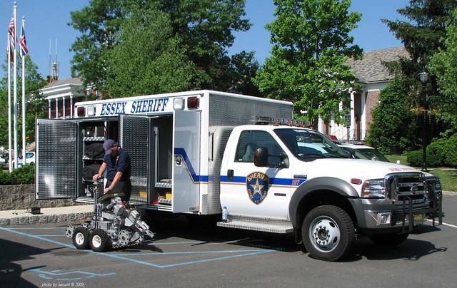 Essex County NJ Sheriff - Ford F550 - Bomb Squad  (01)