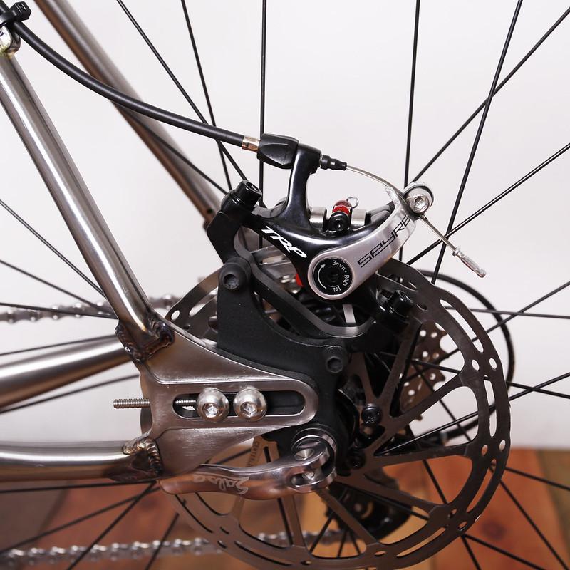 New Mudman Disk × Wicked Wheel Works Wheel Set