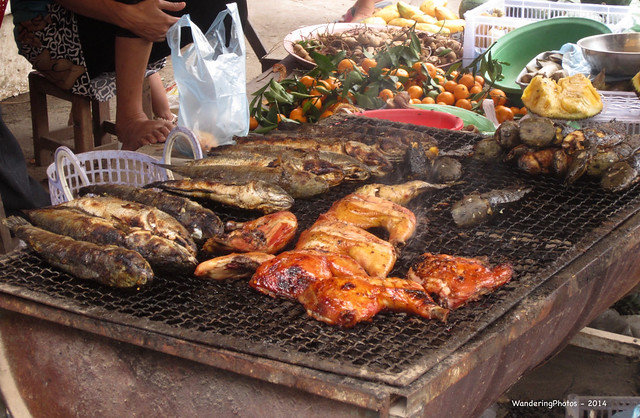 Grilled Fish meat, Canon IXUS 220HS
