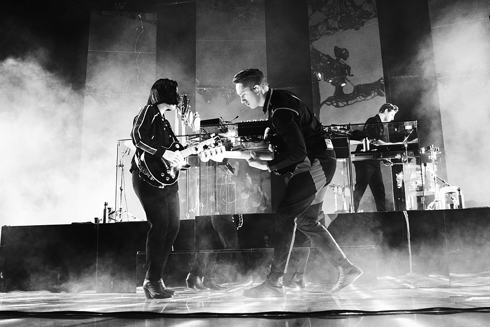 The xx with Sampha
