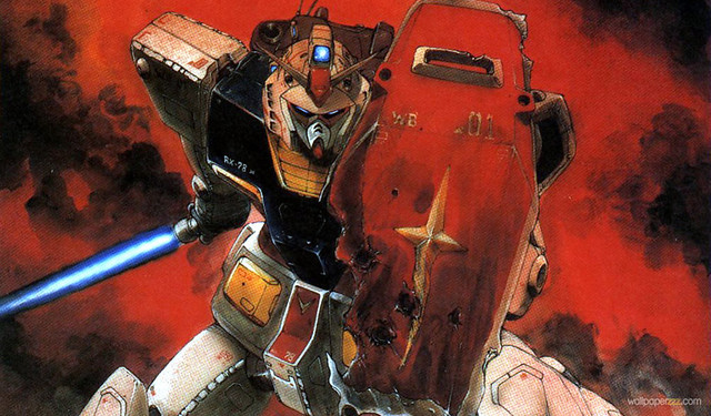 Mobile Suit Gundam Art by Kondo
