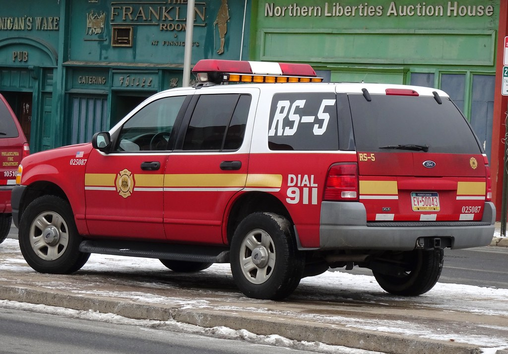 PFD RS 5 | Philadelphia Fire Department RS 5 - Reserve Staff… | Flickr