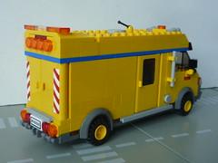 la camionnette atelier lego