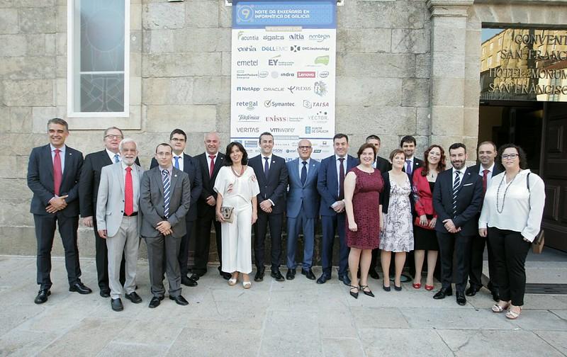 Acto de entrega dos premios do Colexio Profesional de Enxeñaría en Informática