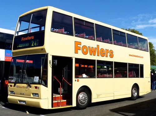 W667 PTD 'Fowlers' Scania N113DRB / East Lancs Cityzen on 'Dennis Basfords railsroadsrunways.blogspot.co.uk'