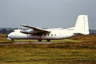 G-BEYK HP Herald Janes Aviation CVT 03-07-91