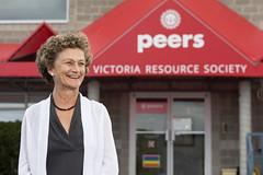 CARBC Scientist Cecilia Benoit - 2017 UVic Provost Engaged Scholar Award