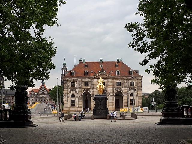 Dresden .Blick zum August
