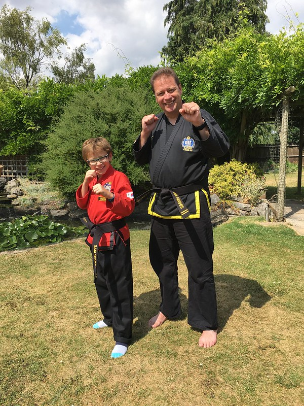 We did it - 2nd dan black belts in Choi Kwang do. More to learn still #ckd4life