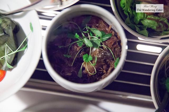 Indonesian style beef rendang