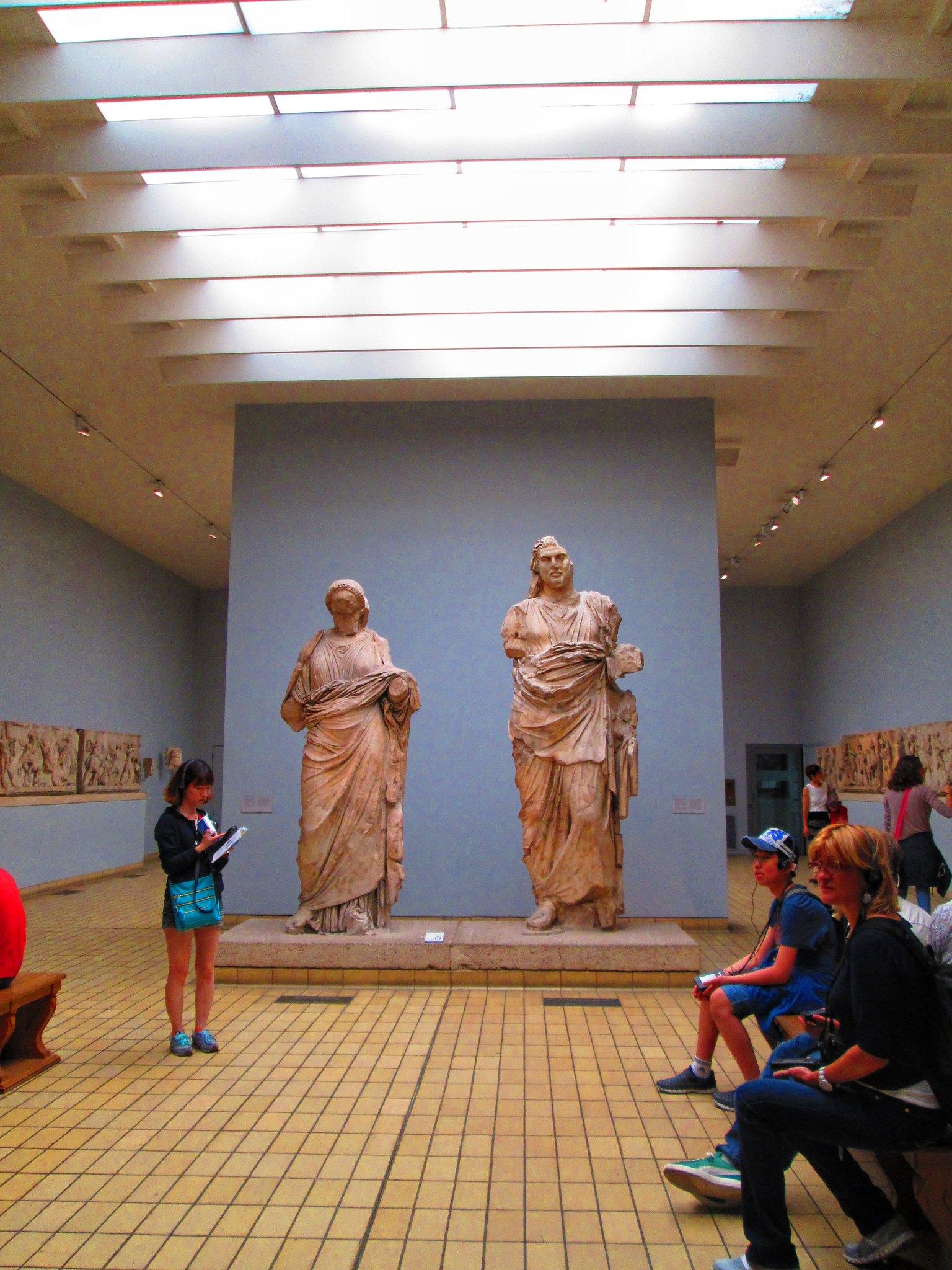 British Museum Greek Statues