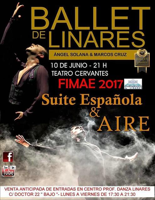 """Ballet Linares """"Suite Española y Arte"""""""
