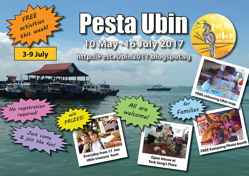Pesta Ubin 2017 poster: this week 3-9 July