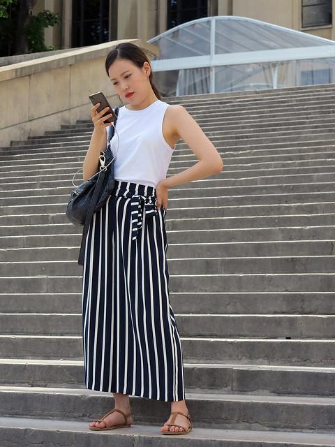 Elegant Korean girl, Canon POWERSHOT G1 X