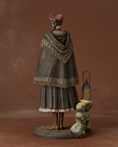美麗又治癒的「女主角」Gecco 《血源詛咒(Bloodborne)》人偶小姐(人形)1/6比例雕像