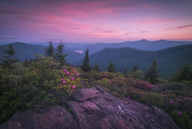 Blue Ridge Parkway Scenic Landscape Asheville NC