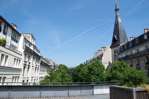 looking up Avenue Ledru-Rollin