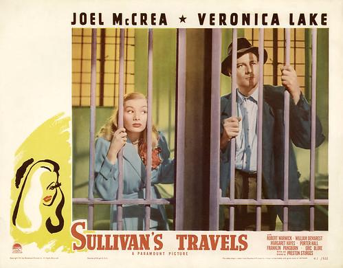 Sullivan's Travels - lobbycard 1