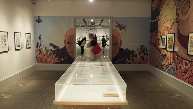 Frank Quitely Exhibition Kelvingrove 08