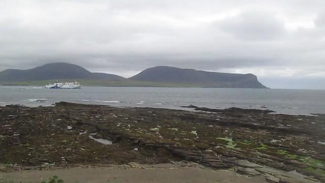 Hamnavoe in Hoy Sound