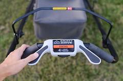 Honda mower with propel assist handle