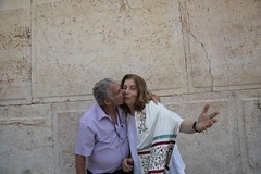 Israeli Icon Itzik Yifat and Anat Hoffman