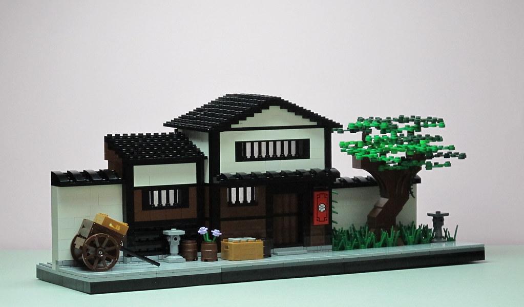 hus japan C5 (custom built Lego model)