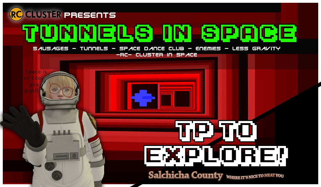 -RC- TUNNELS IN SPACE - SecondLifeHub.com