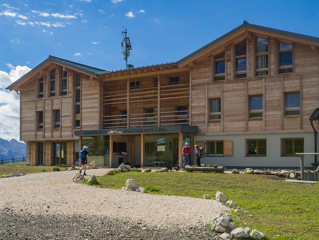 Neubau Plattkofelhütte, 2.300 m, Panasonic DMC-GX1, LUMIX G VARIO PZ 14-42/F3.5-5.6