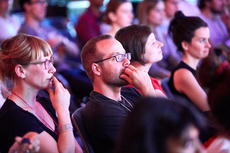 TEDxUniHalle audience